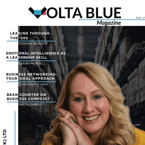 Volta Blue Magazine Issue 8 Front Cover